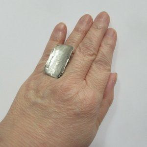 large Rectangle Ring 925 sterling silver Silpada